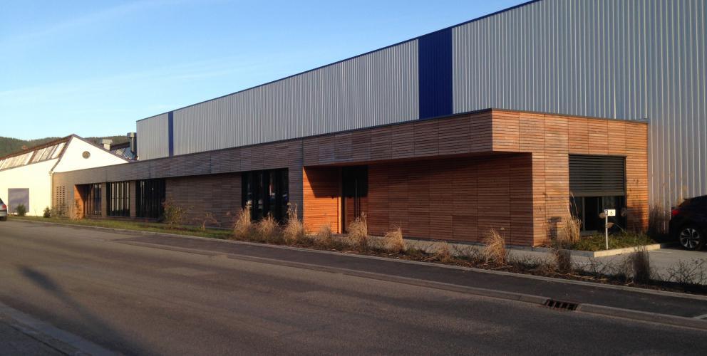 Projet usine Schenker Stores France