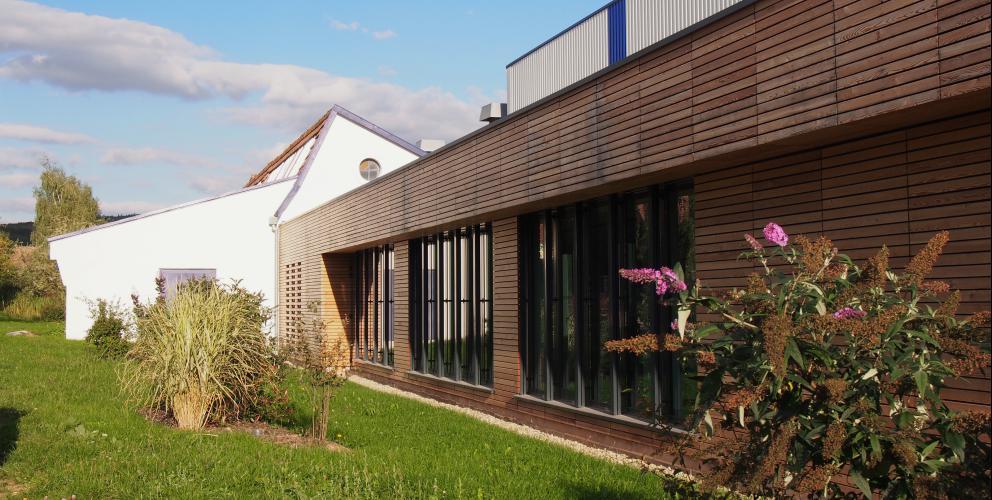 Projet Schenker - Traitement de la façade