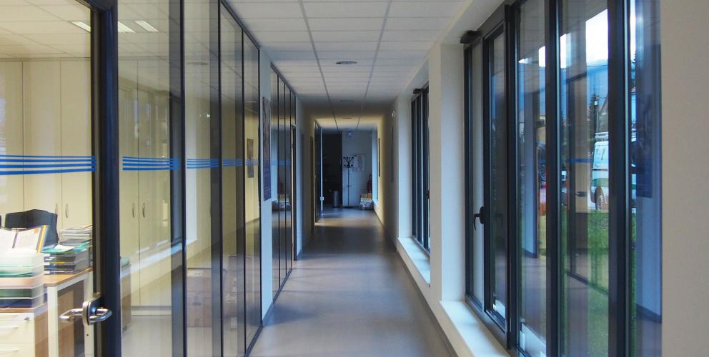 Projet Schenker - Distribution des bureaux