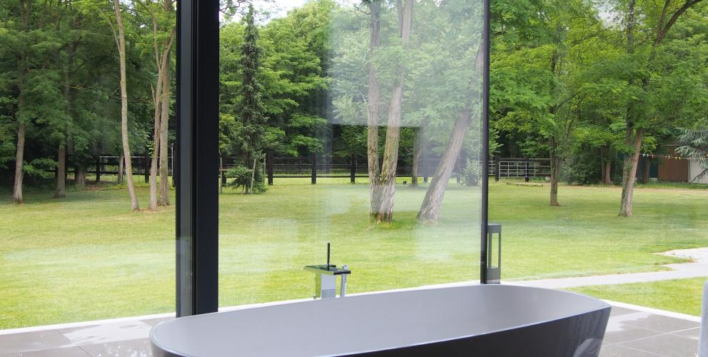 Projet CS - Une salle de bain ouverte sur le paysage