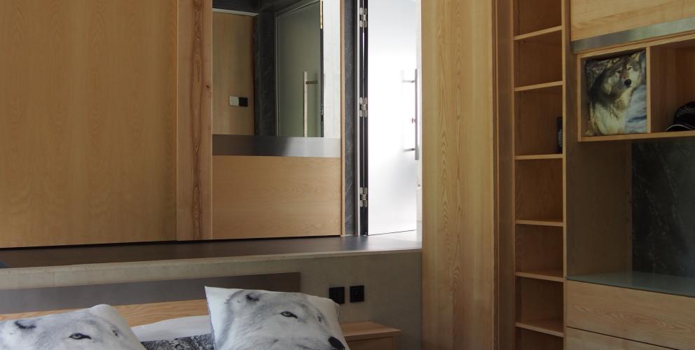Projet CS - La chambre retrouve la chaleur du bois