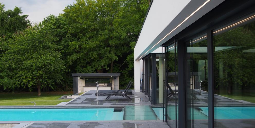 Projet CS - Une terrasse comme prolongement des espaces à vivre vers l'extérieur