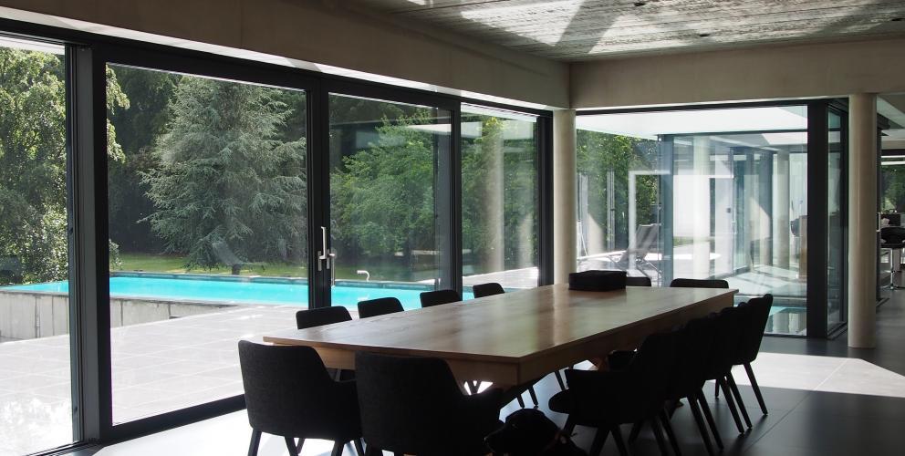 Projet CS - L'espace de réception, et quelques occupants !