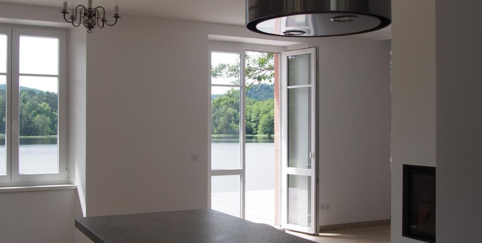 Projet PS - La cuisine est ouverte sur le séjour