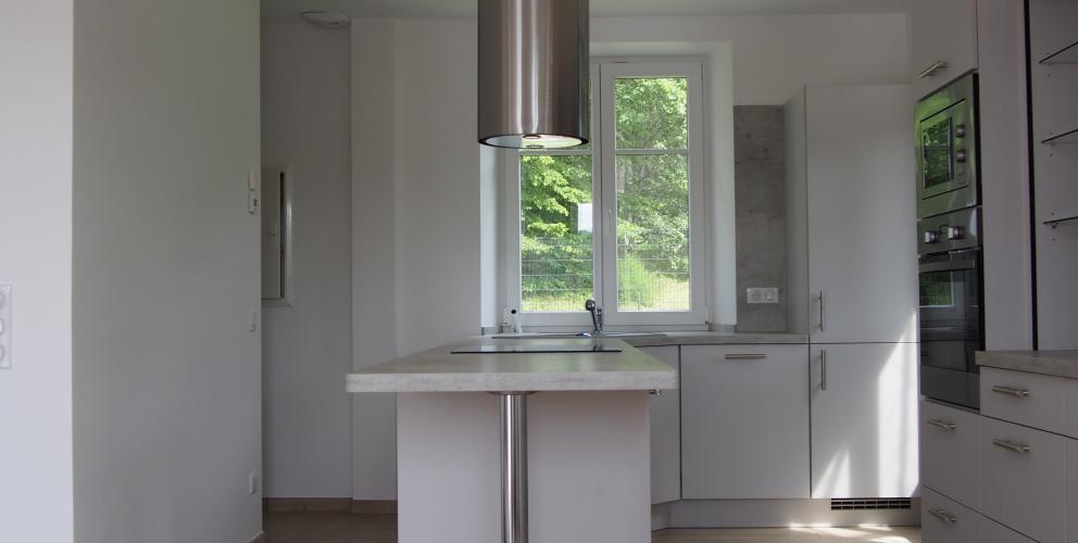 Projet PS - Intégration de la cuisine et du bar dans l'espace de vie principal