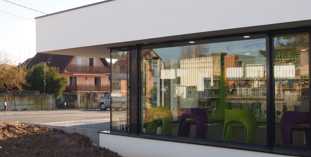 Projet CVV - Une vitrine en dialogue avec la rue