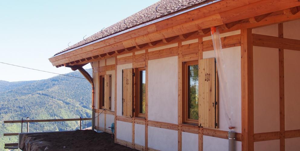 Projet JEE - En cours de construction - Composition de la façade